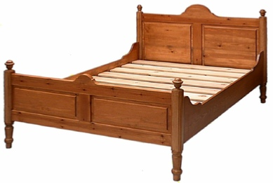 Sleigh bed from Litvinoff and Fawcett
